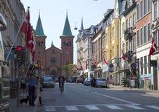 Stadt Dänemarks, Aarhus Stockfotografie
