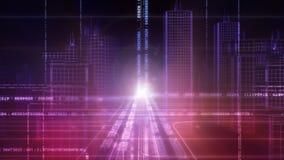Stadt 3D stock abbildung