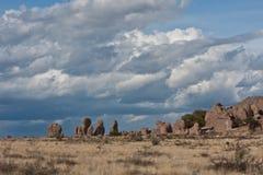 Stadt der Felsen, New-Mexiko. Lizenzfreie Stockfotografie