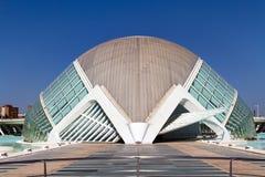 Stadt der Künste und der Wissenschaften Valencia, Spanien Stockfotos