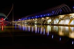 Stadt der Künste und der Wissenschaften Valencia, Spanien Lizenzfreie Stockbilder