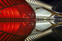 Stadt der Künste und der Wissenschaften Valencia, Spanien Lizenzfreies Stockbild