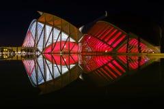 Stadt der Künste und der Wissenschaften Valencia, Spanien Stockfotografie