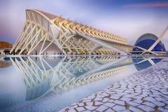 Stadt der Künste und der Wissenschaften Valencia, Spanien Stockfoto