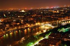 Stadt der Leuchte Stockbild