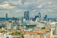 Stadt der London-Skyline Stockfoto