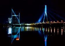 Stadt in der Nacht Lizenzfreie Stockbilder