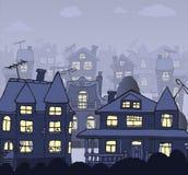 Stadt in der Nacht Lizenzfreies Stockfoto