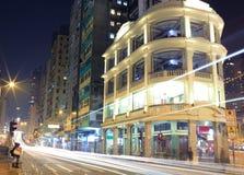 Stadt der Nacht Stockbilder