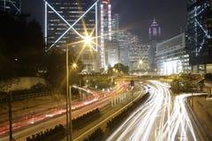 Stadt der Nacht Stockfoto