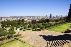 Stadt der Pretoria-Skyline, Südafrika Lizenzfreie Stockfotografie