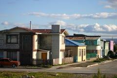 Stadt der Punto Arenas Stockbild