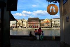 Stadt der Schweiz, Zürich Stockfotos