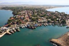 Stadt der Seite, die Türkei. Stockbilder