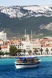 Stadt der Spalte in Kroatien Stockbild