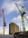 Stadt des London-Aufbaus Stockfotos