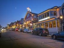 Stadt des Stangen-Hafens, Maine Lizenzfreie Stockfotografie