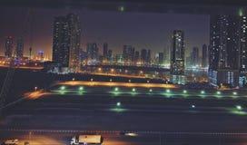 Stadt, die nie schläft lizenzfreie stockfotografie