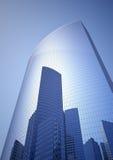 Stadt in einem Wolkenkratzer Lizenzfreie Stockfotografie