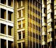 Stadt-Fassaden Stockbilder