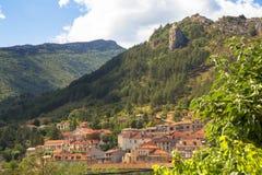 Stadt in Frankreich Lizenzfreie Stockfotos