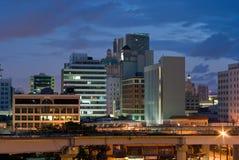 Stadt-Gebäude Stockfotos