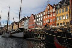 Stadt-Gebäude Kopenhagens Dänemark Lizenzfreie Stockfotos