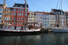 Stadt-Gebäude Kopenhagens Dänemark Lizenzfreie Stockfotografie