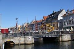 Stadt-Gebäude Kopenhagens Dänemark Lizenzfreies Stockbild