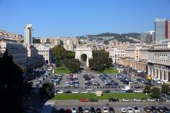 Stadt Genua in Italien Lizenzfreie Stockbilder