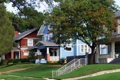 Stadt-Häuser Lizenzfreies Stockbild