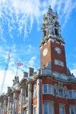 Stadt Hall Colchester Essex lizenzfreie stockfotos