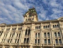 Stadt Hall Trieste Lizenzfreie Stockfotografie
