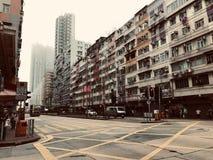 Stadt in Hong Kong lizenzfreies stockbild
