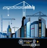 Stadt im Bau