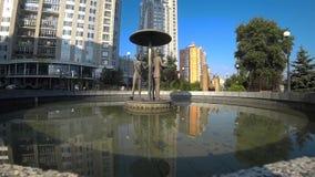 Stadt, im Freien, Park, Baum, Kiew, Architektur, stock video footage