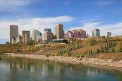 Stadt im Herbst Lizenzfreies Stockbild
