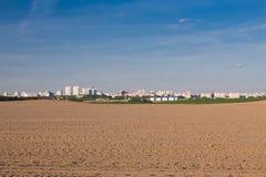 Stadt im Hintergrund Stockfotos