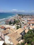 Stadt in Italien lizenzfreie stockfotos
