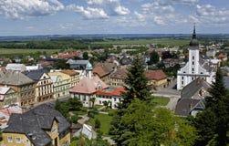 Stadt Javornik Lizenzfreie Stockfotos