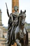 Stadt-Kammern in George Square, Glasgow, Schottland Stockbild