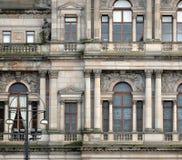 Stadt-Kammern in George Square, Glasgow, Schottland Lizenzfreie Stockfotos
