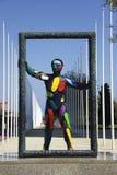 Stadt-Kunst lizenzfreies stockbild