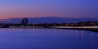 Stadt-Landschaft Stockbild