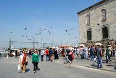 Stadt-Leben in Istnabul Lizenzfreie Stockfotos