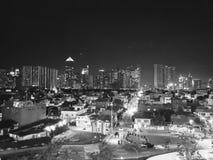 Stadt-Leuchten lizenzfreies stockbild