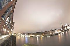 Stadt-Leuchten stockfoto
