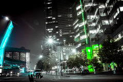 Stadt-Leuchten Lizenzfreies Stockfoto
