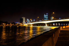 Stadt-Leuchten Lizenzfreie Stockfotos