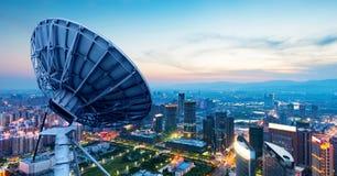 Stadt-Lichter, Nanchang, China lizenzfreie stockfotos